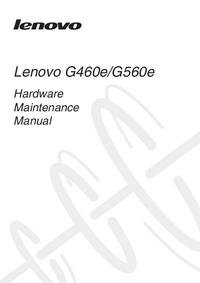 Instrukcja serwisowa Lenovo G460e
