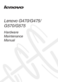 Instrukcja serwisowa Lenovo G470