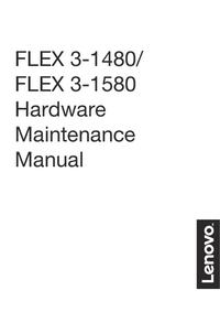 Instrukcja serwisowa Lenovo FLEX 3-1580