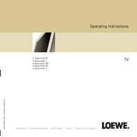 Bedienungsanleitung Loewe Planus 4670 ZW
