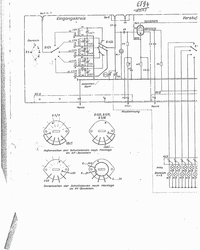 Schéma cirquit Lorenz E1