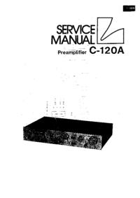 Instrukcja serwisowa Luxman C-120A