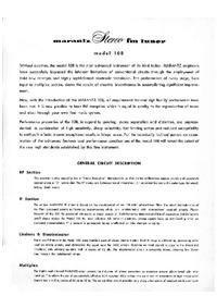 Руководство по техническому обслуживанию Marantz 10B