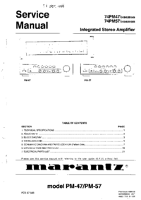 Marantz-2585-Manual-Page-1-Picture