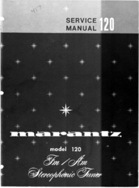 Service Manual Marantz model 120