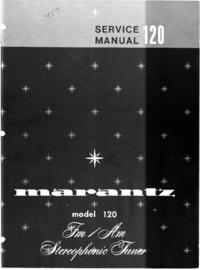 Serviceanleitung Marantz model 120