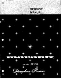 Manual de servicio Marantz 2215B