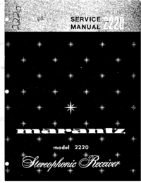 Service Manual Marantz 2220