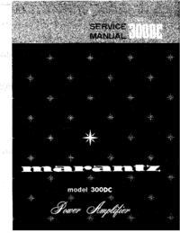 Manual de servicio Marantz 300DC