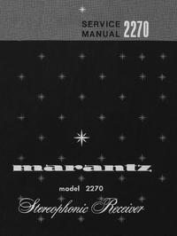 Instrukcja serwisowa Marantz 2270