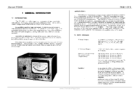 Service and User Manual Marconi TF 2600