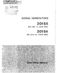 Manual do Usuário Marconi 2018A