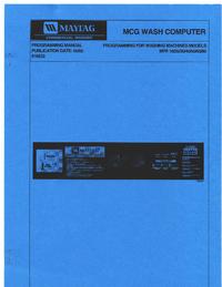 Servicehandboek Maytag MFR 25