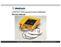 Serviceanleitung Medtronic Lifepak 500