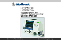Service Manual Medtronic Lifepak 20e