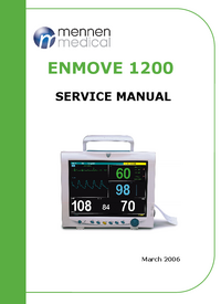 Manual de servicio Mennen ENMOVE 1200