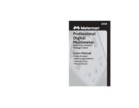 Manual do Usuário Meterman 30XR