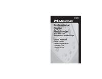 User Manual Meterman 34XR