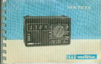 Service-en gebruikershandleiding Metrix MX727A