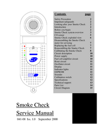 Manual de servicio MicroMedical Smoke Check