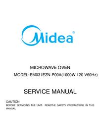 Serviceanleitung Midea EM031EZN-P00A