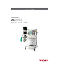 Manual de servicio Mindray AS3000
