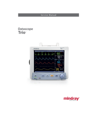 Manual de servicio Mindray Datascope Trio