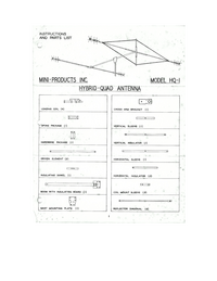 Service and User Manual Miniproducts HQ-1