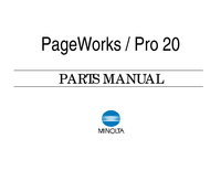 Part List Minolta PageWorks 20