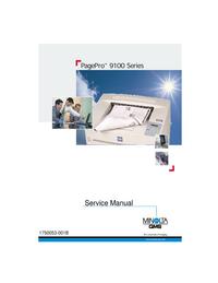 Instrukcja serwisowa MinoltaQMS PagePro 9100 Series