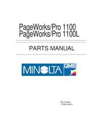 Deel Lijst MinoltaQMS PageWorks/Pro 1100