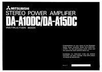 Руководство пользователя Mitsubishi DA-A10DC
