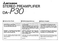 Gebruikershandleiding Mitsubishi DA-P30