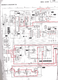 Схема Cirquit Mitsubishi DA-R45P