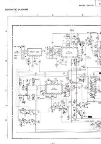 Схема Cirquit Mitsubishi DA-R47P