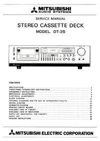 Servicehandboek Mitsubishi DT-35
