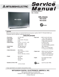 Mitsubishi-1322-Manual-Page-1-Picture