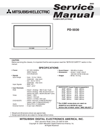 Mitsubishi-1328-Manual-Page-1-Picture