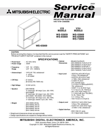 Service Manual Mitsubishi V19