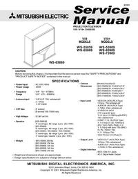 Manual de servicio Mitsubishi WS-65909