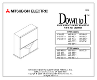 Manual de servicio Mitsubishi V20