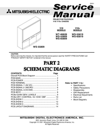 Service Manual Mitsubishi V18