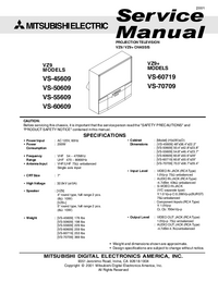 Manual de servicio Mitsubishi VS-55609