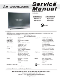 Service Manual Mitsubishi V28