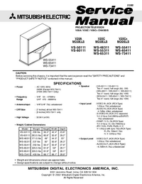 Manual de servicio Mitsubishi VS-50111