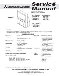 Service Manual Mitsubishi V25++
