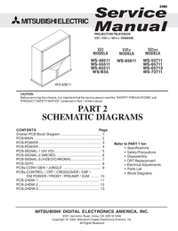 Service Manual Mitsubishi V21