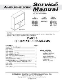 Manuale di servizio Mitsubishi WS-73711
