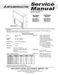 Servicehandboek Mitsubishi WS-65413