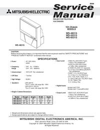 Service Manual Mitsubishi V24